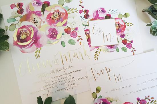 foil-invitations