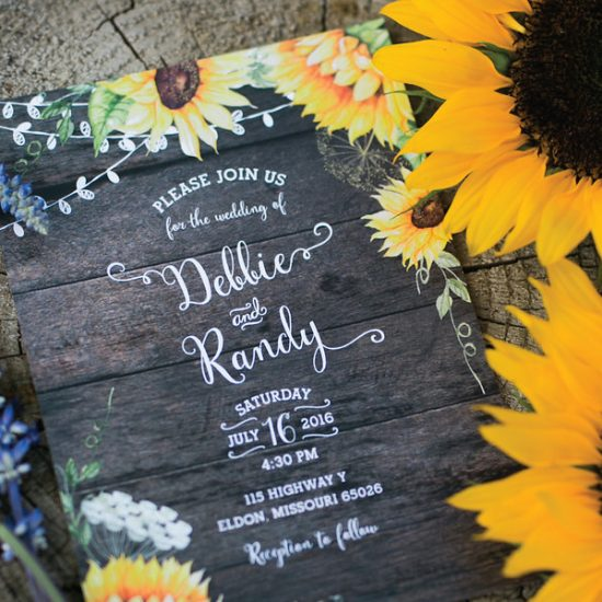 sunflower-wedding-invitation-wedding-theme