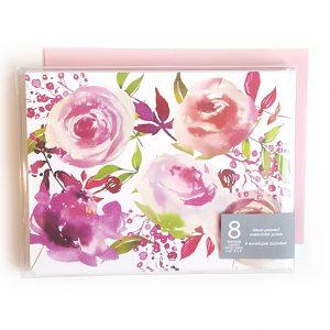 pink-floral-notecards