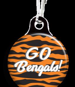 go-bengals-pet-collar-charm