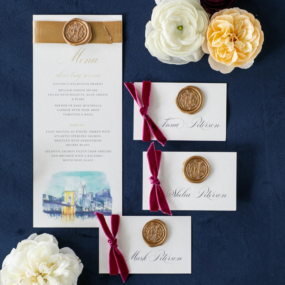 wedding-menus